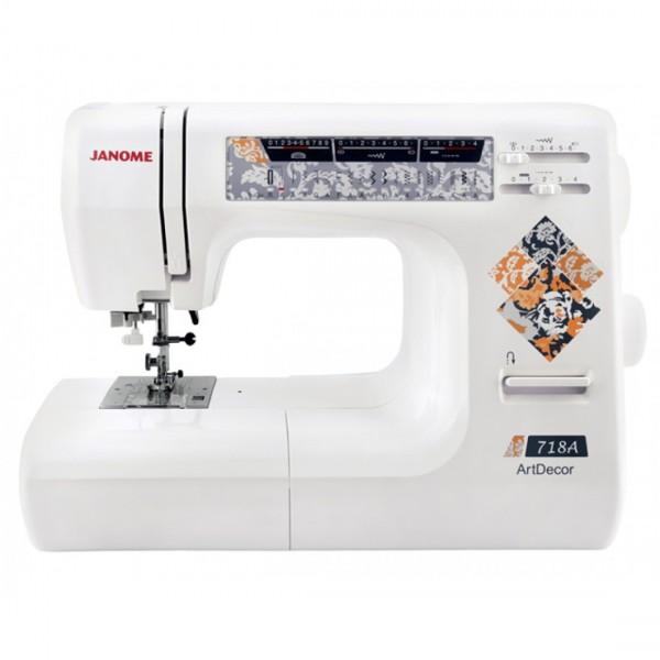 JANOME ArtDecor 718A